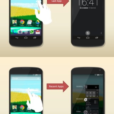 Perform Actions from Sides of Your Screen with Navigation Layer