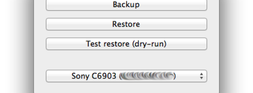 Backup the TA Partition on Your Sony Xperia using Mac OS X