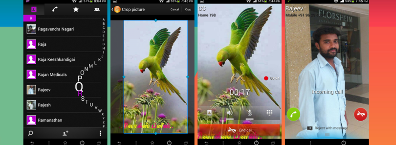 Full Screen Call Experience for the Sony Xperia P, U, and Sola