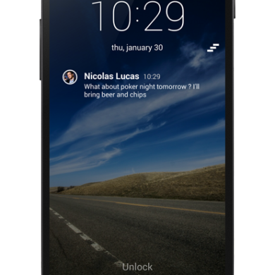 Change the Look of Your Lock Screen with SlideLock