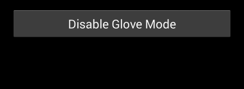 Enable Glove Mode on Your Samsung Galaxy S 4 Running AOSP-Based ROMs