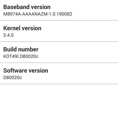 AT&T LG G2 Also Receives Android 4.4.2 Update, OTA Captured!
