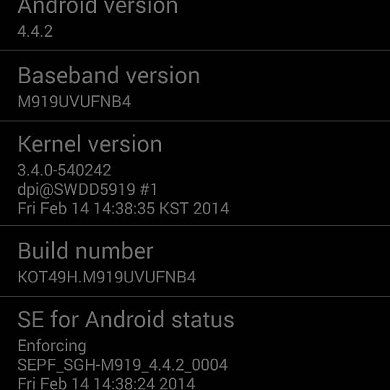 T-Mobile Galaxy S 4 Receives 4.4.2, OTA Mirrored!