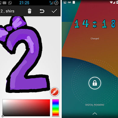 Draw Your Own Clock Widget with DrawTime