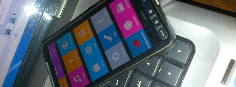 Nokia X ROM Running on the HTC HD2… Sort of