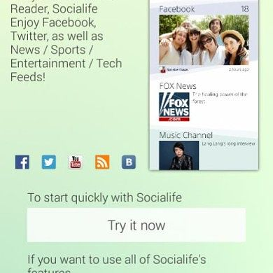Get Social with the Xperia Z2's Socialife App Ported to All Xperia Devices