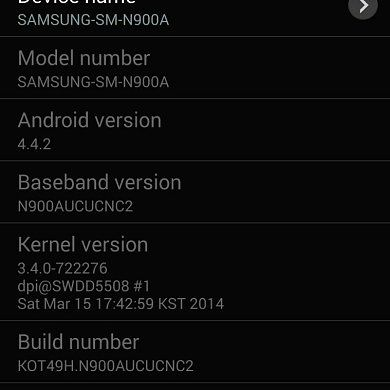 [Update: OTA Captured!] Android 4.4.2 Now Rolling Out to the AT&T Galaxy Note 3