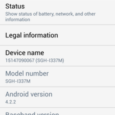 Bell Canada Galaxy S 4 Now Receives Official 4.4.2 (VLUFNC1) Too