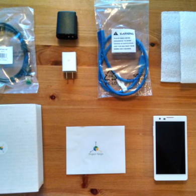 Google Project Tango Dev Kits Make their Way to Developers
