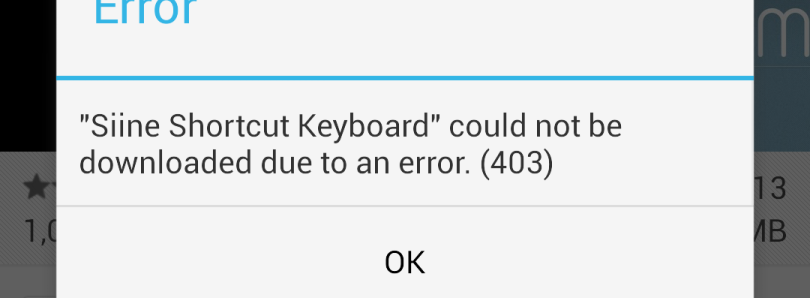 Rid Yourself of Annoying Play Store Errors
