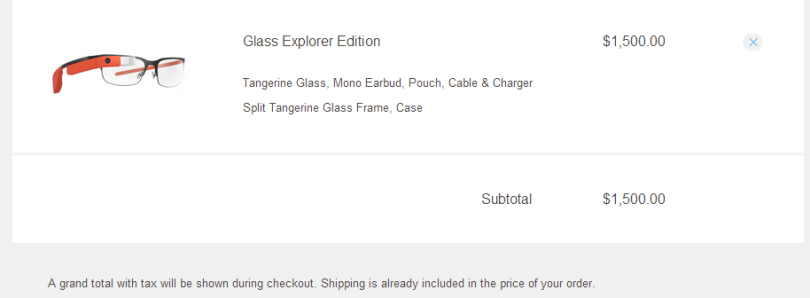 Google Glass Now Open to Anyone… with $1500 to Spend (Update: Not Anymore)