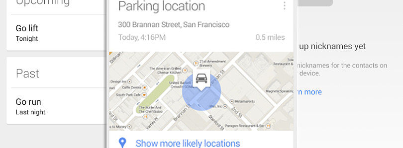 [APK] Google Search 3.4 Brings Parking Location Card, New Reminder Interface, and Custom Nickname Management