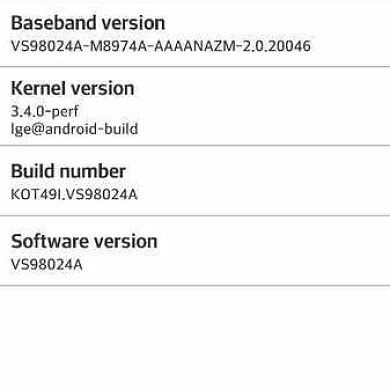 [OTA Captured] KitKat Finally Arrives on the Verizon LG G2, Rooted Stock ROM Also Available!