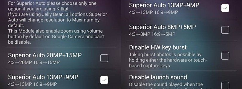 Xposed Makes Customizing Your Sony Xperia Camera Easy