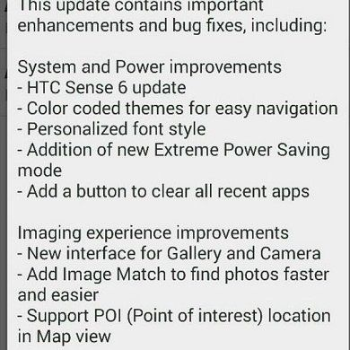 [OTA Captured] Sense 6 Now Rolling Out to Unlocked and Developer HTC One M7