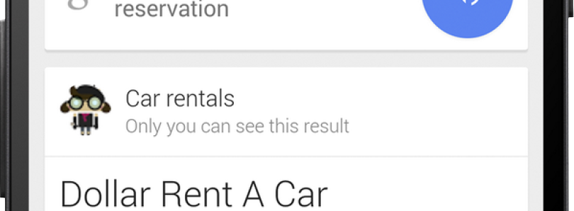 Google Search Now Also Fetches Your Rental Car Reservations