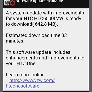 [OTA Captured, RUU Available] Sense 6 Now Rolling Out to Verizon HTC One M7