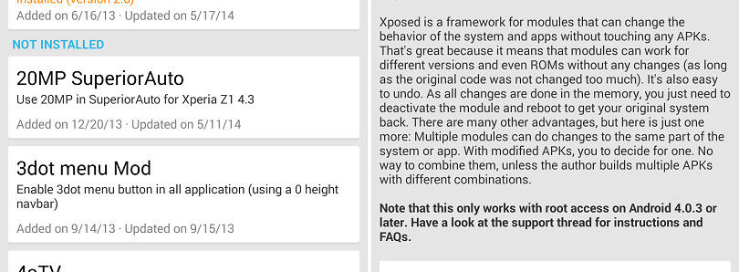 Xposed Framework 2.6 Brings Radically Improved UI, Downloader Tweaks, Framework Improvements, and More!