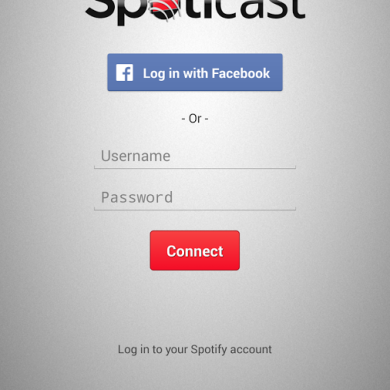 Enjoy Spotify on Your Chromecast with Spoticast