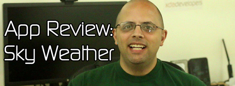 Android App Review: Sky Weather – XDA Developer TV