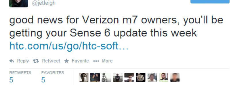 Sense 6 Heading to Verizon HTC One M7 This Week, AT&T and Sprint Models Undergoing Carrier Certification