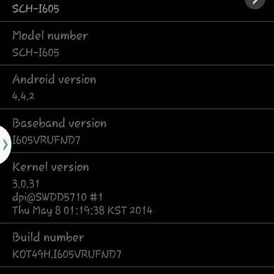 Verizon Galaxy Note II Finally Receives KitKat OTA Update
