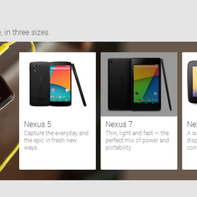 Google Nexus Line Not Going Anywhere, Will Live Alongside Android Silver