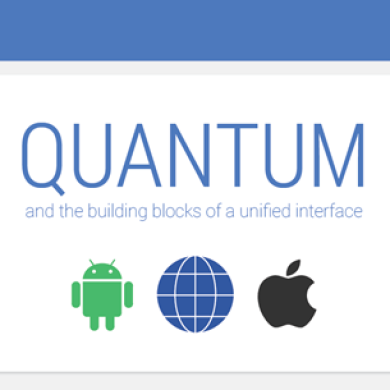 """""""Quantum Paper"""" to Bring a Simpler and More Cohesive UI to Google Products?"""