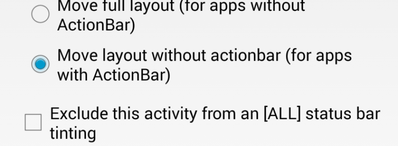 Tinted and Translucent Status and Navigation Bars in Any App