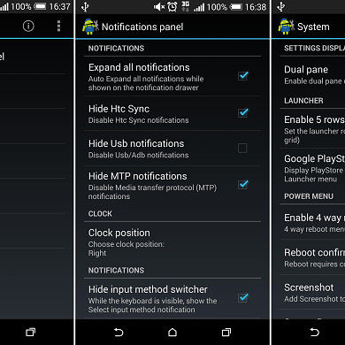XSense Brings Massive Customization to Sense-Based ROMs using Xposed