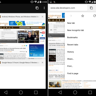 [APK] Chrome Beta 37 Brings First Traces of Material Design