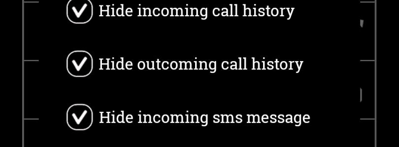 Hide Numbers on Your SMS and Call Logs with Reflection