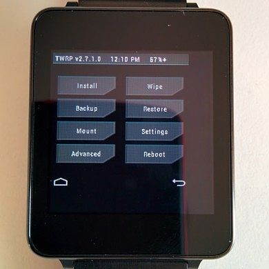 TWRP Now Available for the LG G Watch and Samsung Gear Live