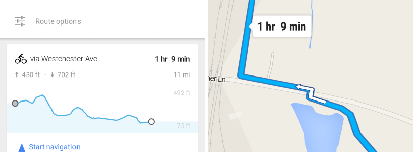 [APK] Google Maps 8.2 Brings Better Voice Support, Biking Elevation