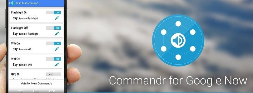 """Ok Google, Write about Commandr"""