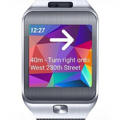 Navigate with Your Samsung Gear 2 Using DMA Navi Watch