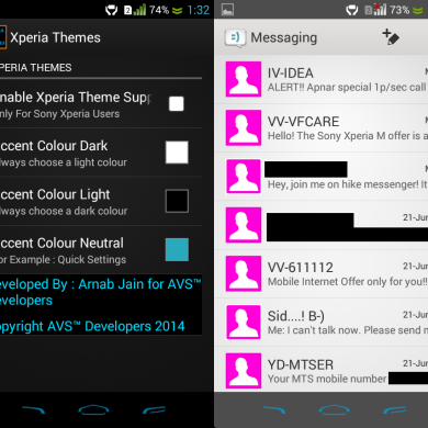 Change the System Accent Color of Your Xperia Device Easily with Xposed Module