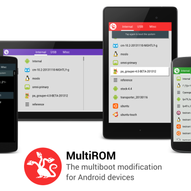 MultiROM Ported to the Z2 and Z3!