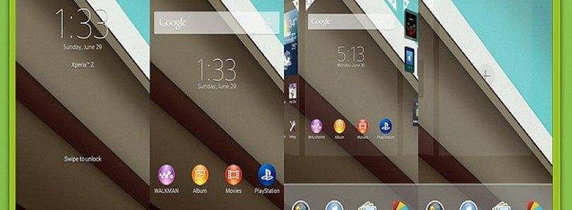 Easily Create Sony Xperia Themes for Android 4.1or 4.2