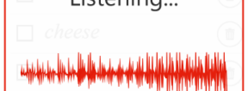 Create a Shopping List by Speaking to Your WP8 Device with Speech Shopper