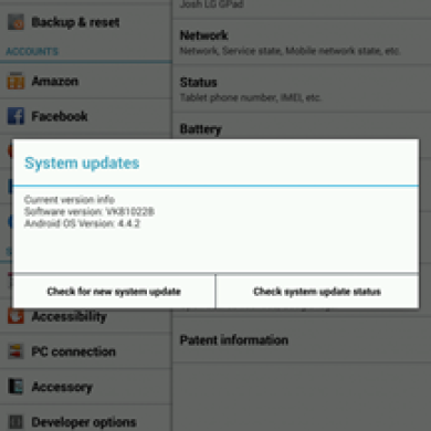 [OTA Captured] Verizon LG G Pad 8.3 Finally Gets Official KitKat Update