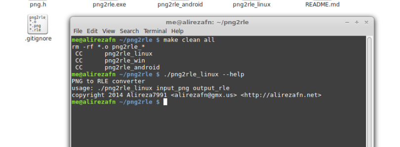 Convert PNGs into RLEs Easily on Any OS with PNG2RLE