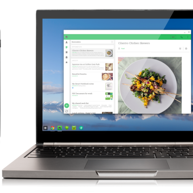 Google Adds Android Apps Support to Chrome OS