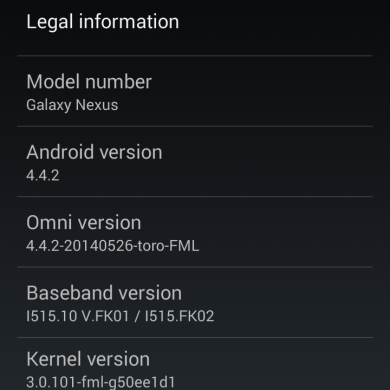 Galaxy Nexus Gets New Life with Updated GPU Drivers