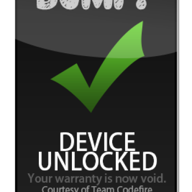 Bump! Works Around the LG G3 Locked Bootloader