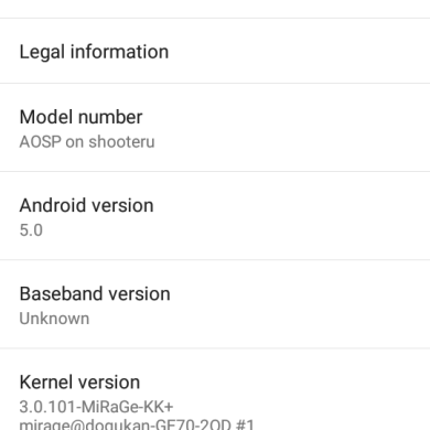Android 5.0 Lollipop in 3D–EVO 3D, That Is!