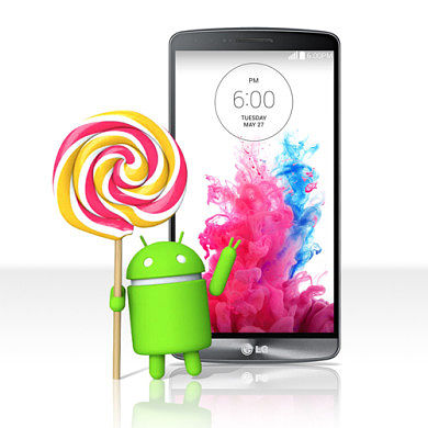 LG G3 Set to Receive Lollipop This Week