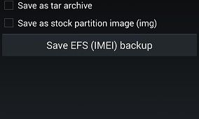Backup Your EFS Partition with Wanam's App