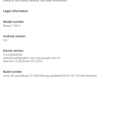 OmniROM Now Booting on Android 5.0 Lollipop!