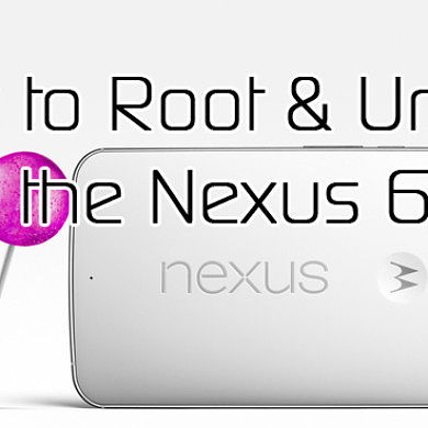 Root and Bootloader Unlock the Nexus 6 – XDA TV